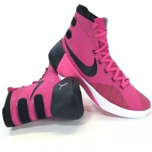 Nike Hyperdunk 2015 Mens Pink Breast Cancer Shoes